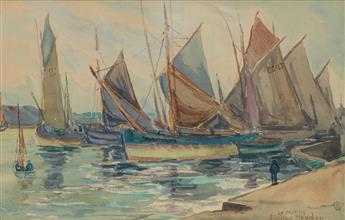 PALMER HAYDEN (1890 - 1973) Le Matin.