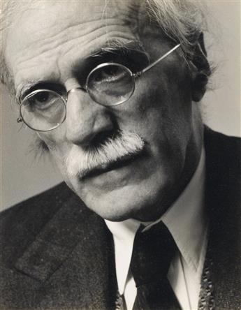 NORMAN, DOROTHY (1905-1997) Portrait of Alfred Stieglitz.