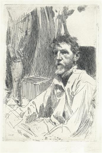 ANDERS ZORN Augustus Saint-Gaudens I.