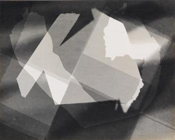 SIEGEL, ARTHUR (1913-1978) Photogram.