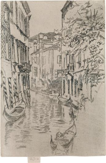 JAMES A. M. WHISTLER Quiet Canal.