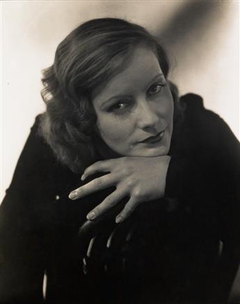 STEICHEN, EDWARD (1879-1973)/PETERSEN, ROLF (active 1950s-60s) Greta Garbo.