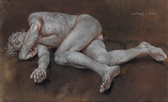 PAUL CADMUS Reclining Male Nude (Z 26).