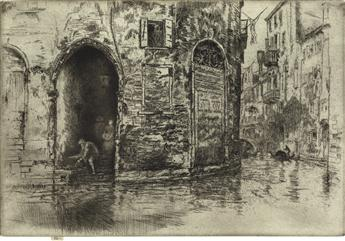 JAMES A. M. WHISTLER The Two Doorways.