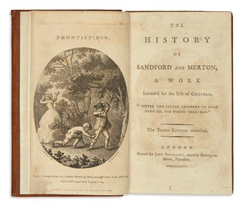 [DAY, THOMAS.]  The History of Sandford and Merton. A Work intended for the Use of Children.  3 vols.  1786-86-89