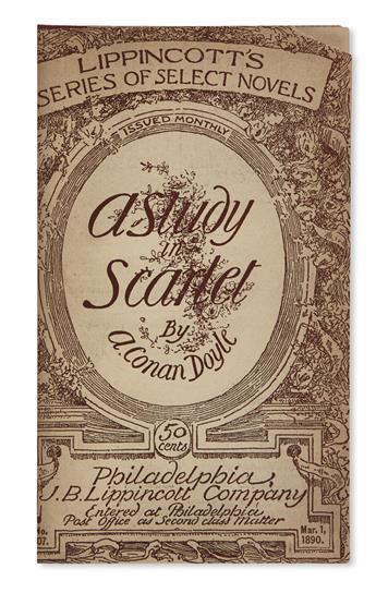 DOYLE, ARTHUR CONAN. A Study in Scarlet.
