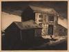 DOX THRASH (1892 - 1965) Old Barns.
