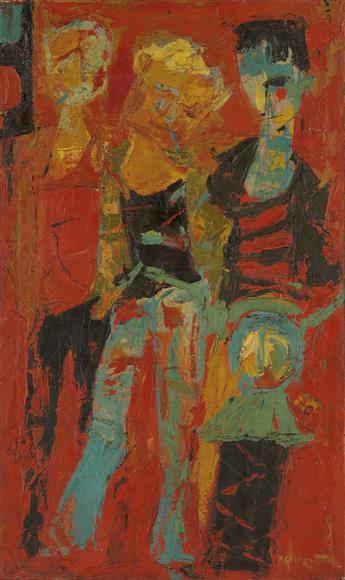 ALVIN CARL HOLLINGSWORTH (1928 - 2000) Trio.