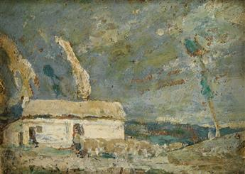 HENRY OSSAWA TANNER (1859 - 1937) The Good Shepherd.