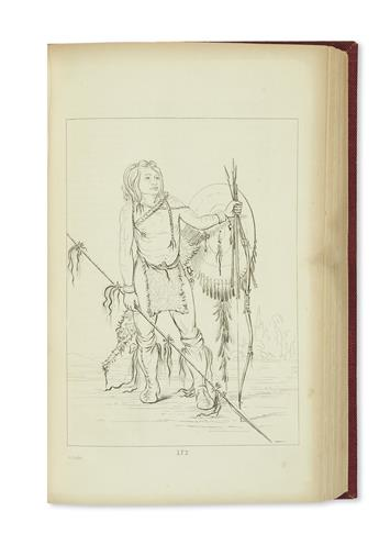 (AMERICAN INDIANS.) Catlin, George. Letters and Notes on the Manners, Customs, and Condition of the North American Indians.