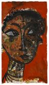 ALEXANDER SKUNDER BOGHOSSIAN (1937 - 2003) Untitled (Head of a Woman).