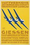 HEL. KURTH (DATES UNKNOWN). GIESSEN. Circa 1930. 20x13 inches, 51x34 cm. Gerb Paras A-G, Munich.