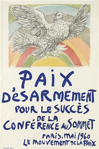 PABLO PICASSO (1881-1973). [PICASSO.] Group of 3 posters. Sizes vary. Mourlot, Paris.