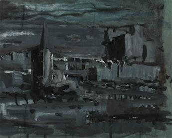 WALTER WILLIAMS (1920 - 1988) Untitled (Cityscape).