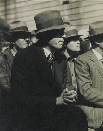 DOROTHEA LANGE (1895-1965) San Francisco Waterfront (demonstration).