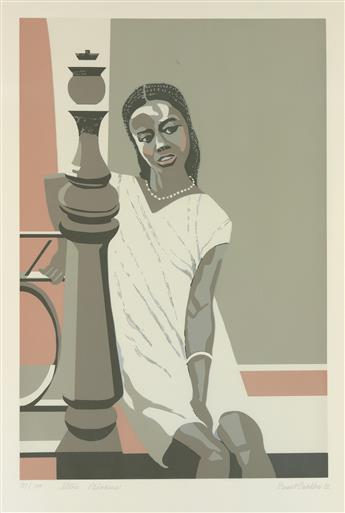 ERNEST CRICHLOW (1914 - 2005) Stone Princess.