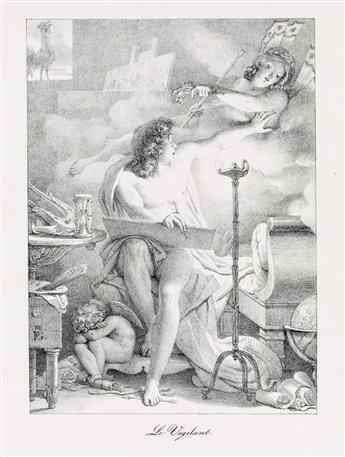 PIERRE NARCISSE GUÉRIN Two lithographs.
