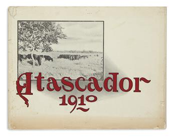 (MEXICO.) Promotional pamphlet for the American settlement of Atascador south of Texas.
