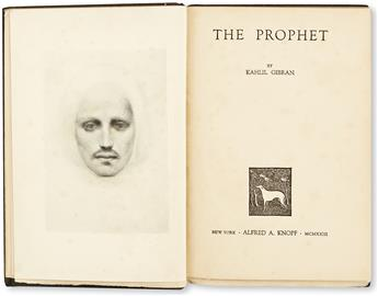 GIBRAN, KAHLIL. The Prophet.