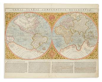 MERCATOR, RUMOLD. Orbis Terrae Compendiosa Descriptio.