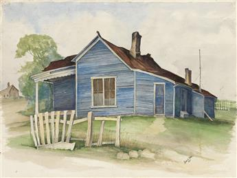 ROBERT NEAL (1916 - 1987) Untitled (Southern Landscape).
