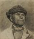 JOHN HAUSER Portrait Study.