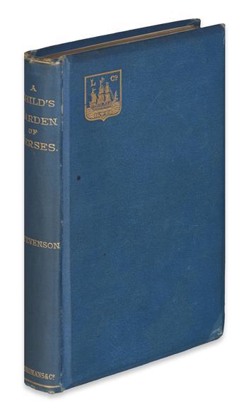 STEVENSON, ROBERT LOUIS. A Childs Garden of Verses.