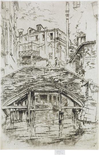 JAMES A. M. WHISTLER Ponte del Piovan.