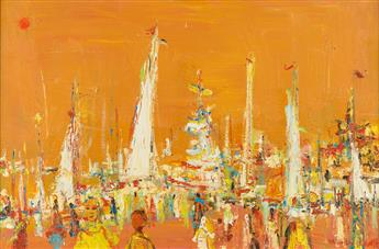 ALVIN CARL HOLLINGSWORTH (1928 - 2000) Untitled.