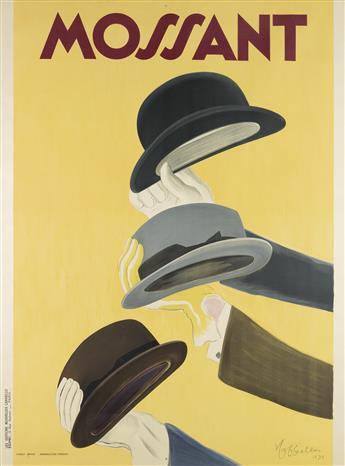 LEONETTO CAPPIELLO (1875-1942). MOSSANT. 1938. 62x46 inches, 157x118 cm. Edimo, Paris.