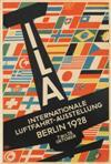 F.B.E. (DATES UNKNOWN). ILA / INTERNATIONALE LUFTFAHRT-AUSSTELLUNG. 1928. 27x18 inches, 70x46 cm. Lindeman & Ludecke, Berlin.