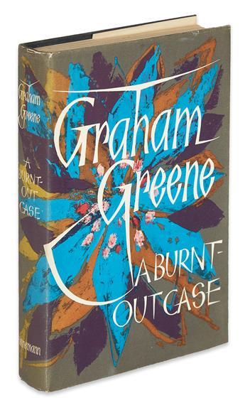 GREENE, GRAHAM. Burnt-Out Case.