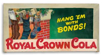 ROYAL CROWN COLA. Hang `em with Bonds!