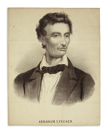 (PRINTS--1860 CAMPAIGN.) Group of 7 engravings from the campaign period.