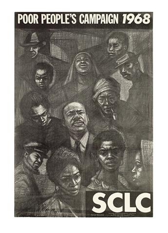 (CIVIL RIGHTS--KING, MARTIN LUTHER JR.) [BAILEY] SCLC. Poor Peoples Campaign, 1968.