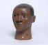 (SCULPTURE.) Terracotta head of a man of mixed blood,