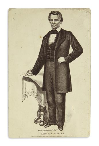 (PRINTS--PRESIDENTIAL.) Group of 19 smaller prints from the Lincoln presidency.