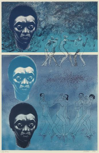 ELIZABETH CATLETT (1915 - 2012) Blues.