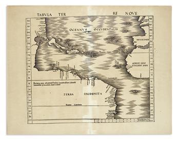 WALDSEEMÜLLER, MARTIN. Tabula Terre Nove.