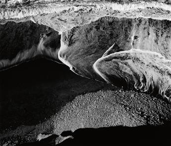 ADAMS, ANSEL (1902-1984) Surf Sequence #4, San Mateo County Coast, California.