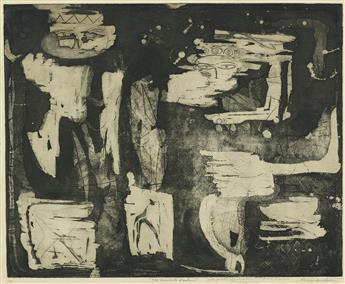 LOUISE NEVELSON The Ancient Garden.
