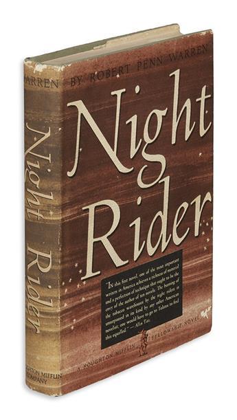 WARREN, ROBERT PENN. Night Rider.