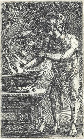 ALBRECHT ALTDORFER Two engravings.