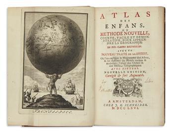 (JUVENILE.) Sepp, Christian; engraver. Atlas des Enfans,