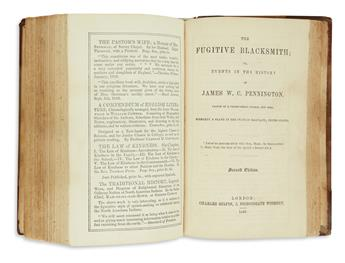 (SLAVERY AND ABOLITION.) Group of 3 London printings of important slavery narratives.