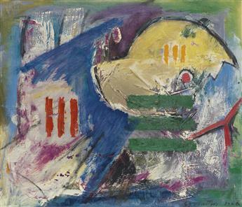 EUGENE J. MARTIN (1938 - 2005) Bird in Rake.