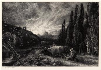 SAMUEL PALMER The Early Ploughman.