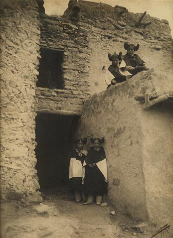 EDWARD S. CURTIS (1868-1952) The Hopi.