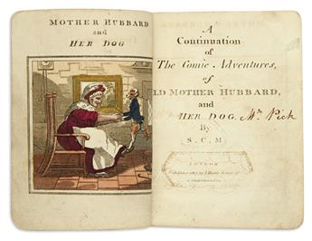 (CHILDRENS LITERATURE.) M[ARTIN], S[ARAH] C[ATHERINE]. A Continuation of the Comic Adventures of Old Mother Hubbard and Her Dog.