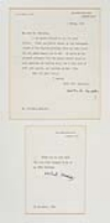 CHURCHILL, WINSTON. Typed Letter Signed,